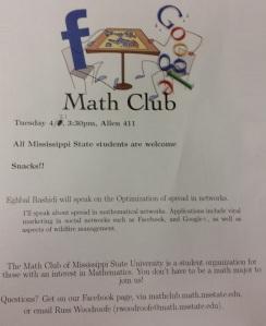 MathClubSeminar