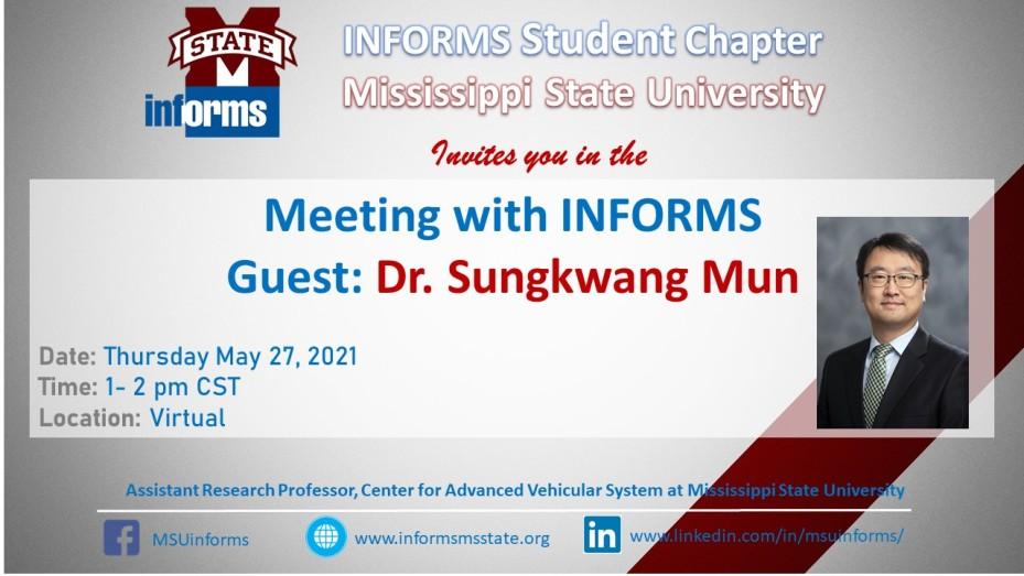 Flyer_Dr. Sungwang Mun